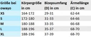 MULTISPORT-LOS_Armlinge_Groessentabelle